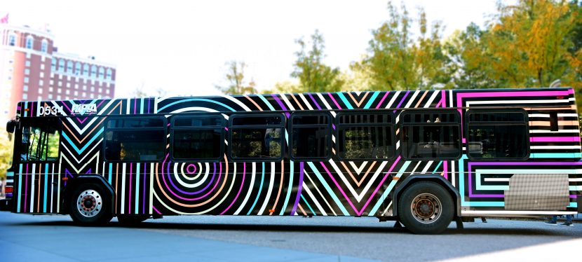 """Art Buses"" begin to travel throughout Rhode Island"