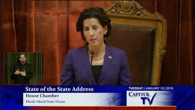 raimondo state of the state address 2019
