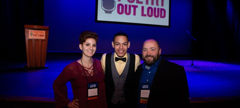 Deadline to Register for the Poetry Out Loud Recitation Competition is Friday December 20th!