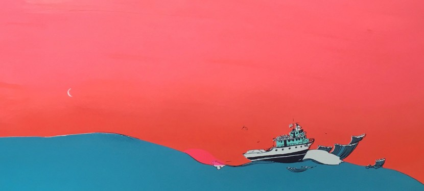 Block Island Airport Gallery features the works of RI artist Allison Bianco